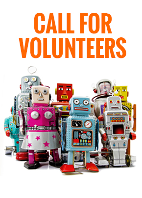 The festival of Curiosity Call for Volunteers Robots Dublin Science Festival July Family Events wahts on